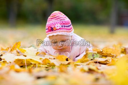 seasonal baby girl
