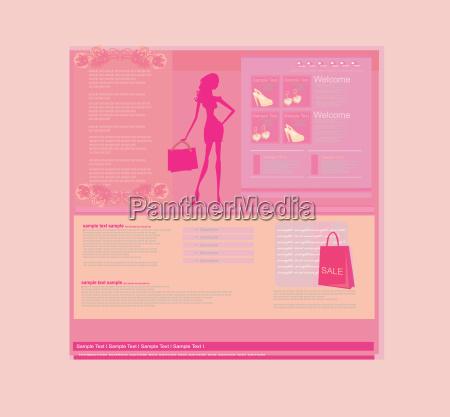 sklep internetowy moda szablon