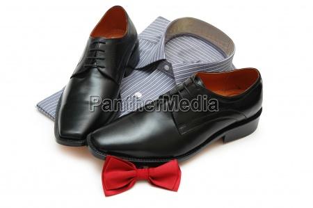 para czarne buty koszule i nowych