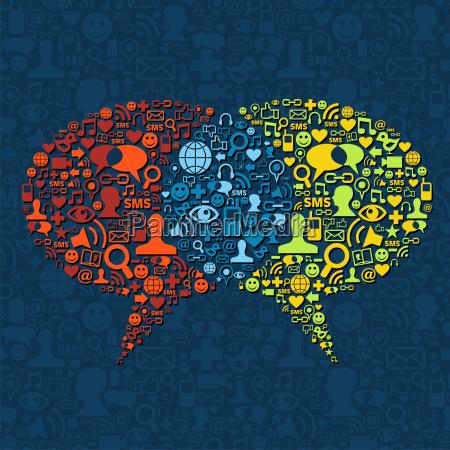 social media dymka interakcji