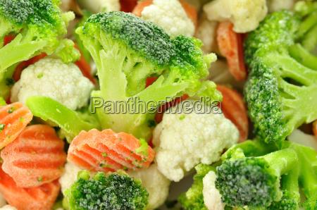 warzywa mrozone