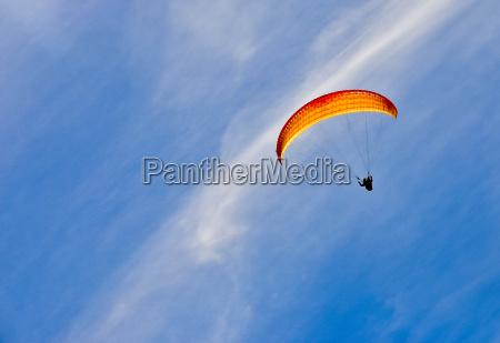 zim gory i paragliding z nieba