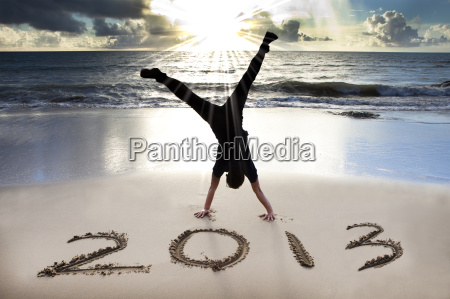happy new year 2013 on the