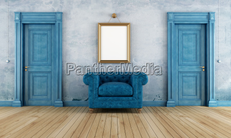 fotel krzeslo drzwi door winobranie mur