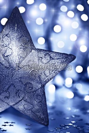 niebieski swiatla ornament streszczenie weihnachtszeit weihnachten
