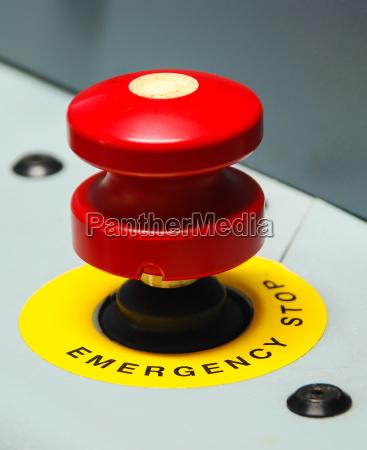 guzik pilny emergency red buttons notfallschild