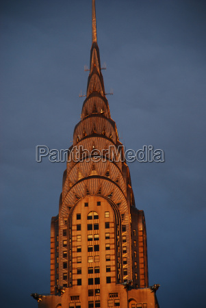 top of the chrysler building new