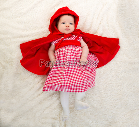 baby little red riding hood on