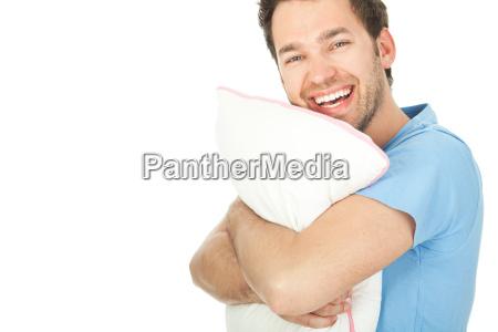 sufit posciel wygodnie zmeczony zmeczona przytulanie