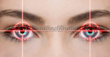 laserowe oczu