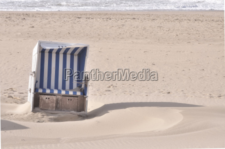 sanded beach chair