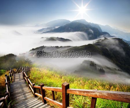 dramatyczne chmury z gory