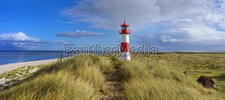 krajobraz panorama z latarni morskiej na