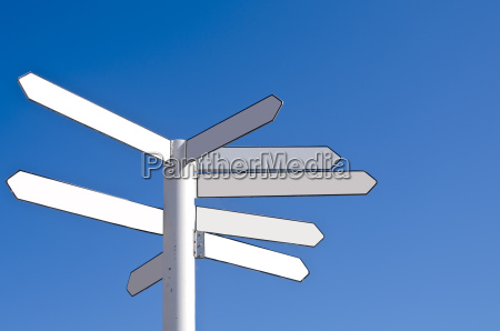 drogowskaz kierunku pustego