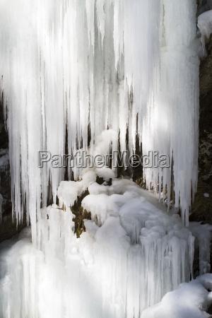zima zimowy lod sopel sople snieg
