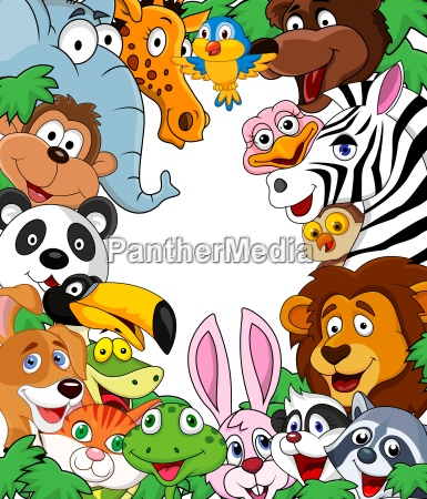 animal cartoon tla