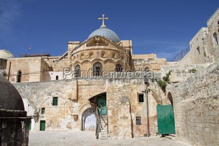 grobu swietego w jerozolimie izrael