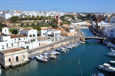 menorca old port of ciutadella