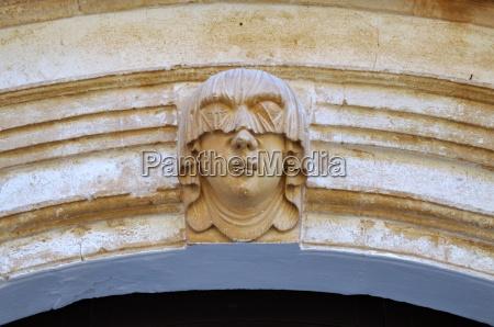 menorca arched doorway in the