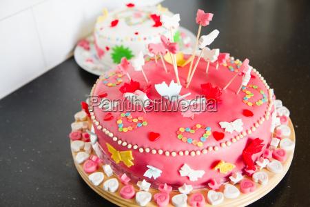 marcepan ciastka na urodziny
