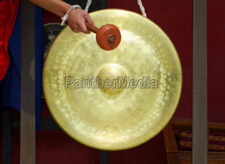 religia muzykalny perkusja szlagier musical gong