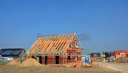 dom budowac bauplatz lad dzialka ziemia