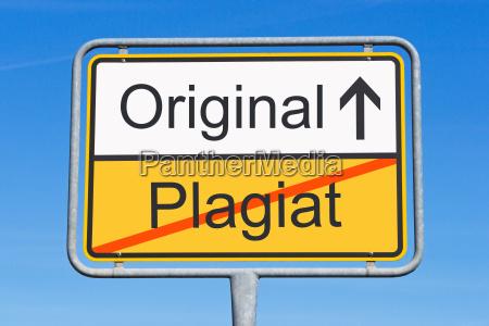 plagiat i oryginal