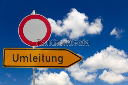 zakaz tranzytu i przekierowania ruchu drogowego