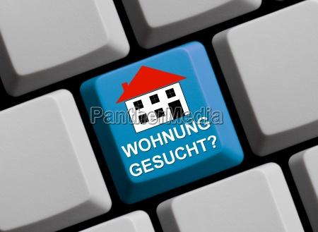 szukanie poszukiwania w domu abode mieszkanie