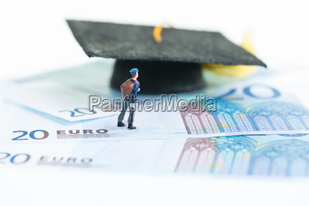 miniature, student, standing, on, top, of - 9599338