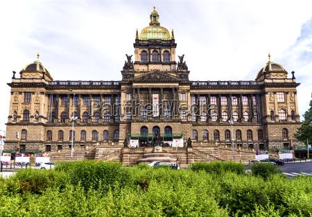 kultura muzeum praga styl budowy architektura