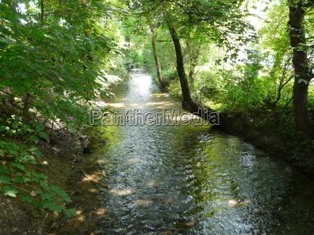 przyrody motyw tlo river rzeka aqua