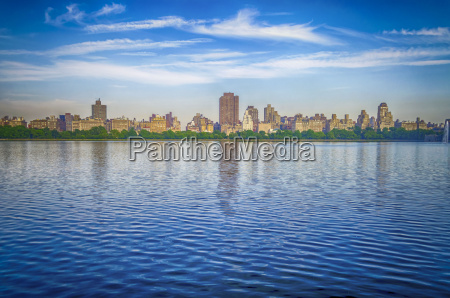 reservoir in central park new york