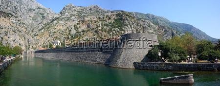 kotor ancient walls montenegro