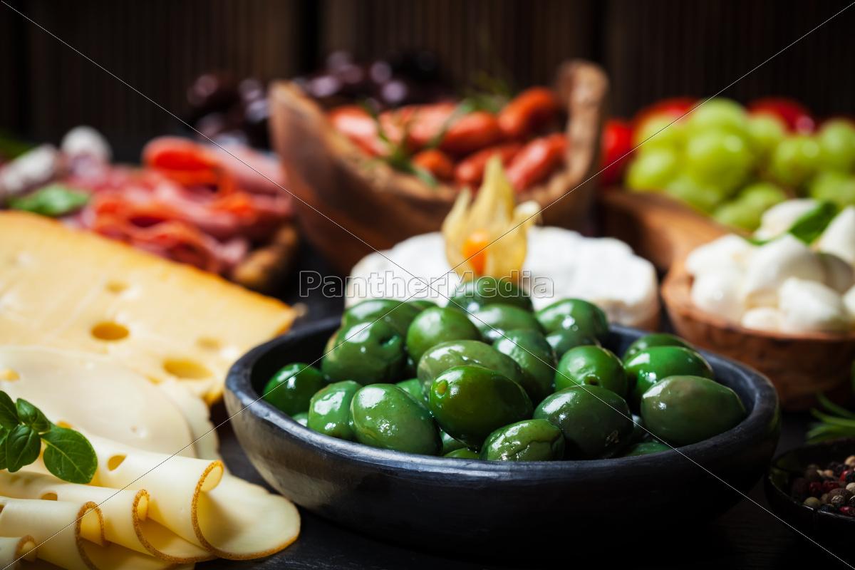przystawka, z, zielonych, oliwek - 10009766