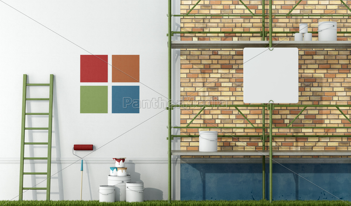 renovation, of, an, old, facade - 10014392