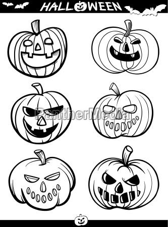 halloween cartoon motywy do kolorowania ksiazki