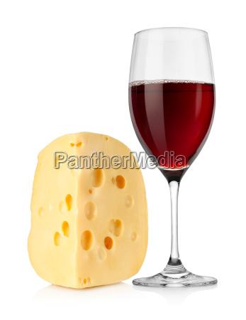 wino i holenderski ser