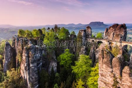 park narodowy wschod slonca bastei gora