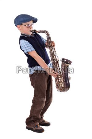 saksofon retro