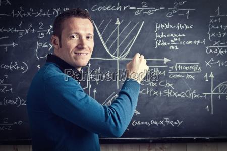 uśmiechnięty, nauczyciel - 10233785