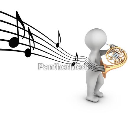 muzyka rog uwaga francuski francuskie podtekstami