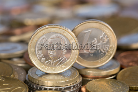 1 euro spain juan carlos i