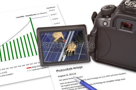 offer photovoltaic system solar power