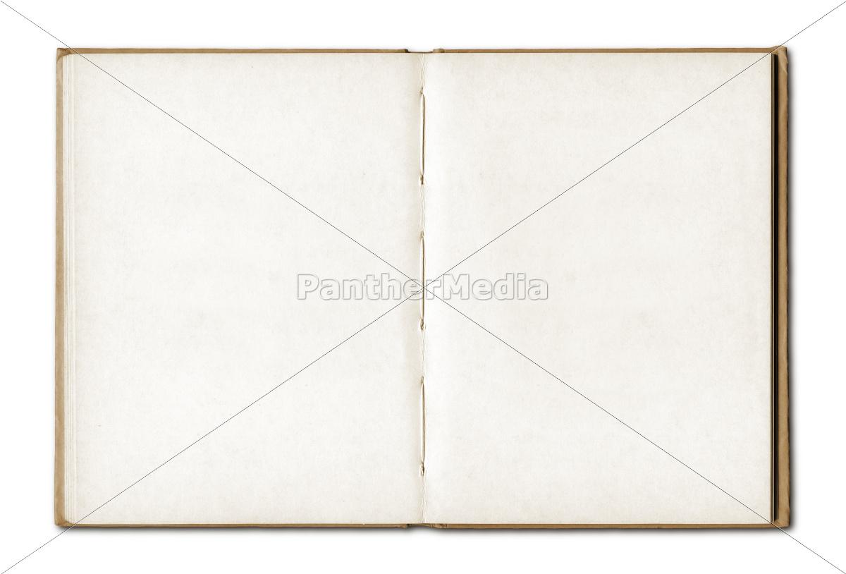 archiwalne, puste, otwieranie, notesu - 10386307