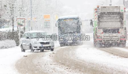 chaos snieg