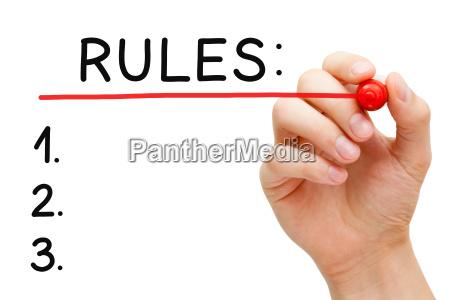 zasady red marker