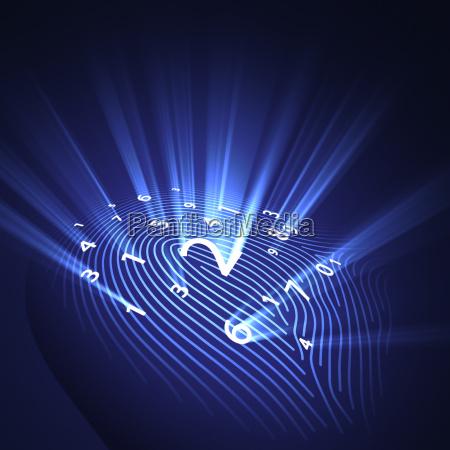 fingerprint bezpieczenstwa cyfrowego