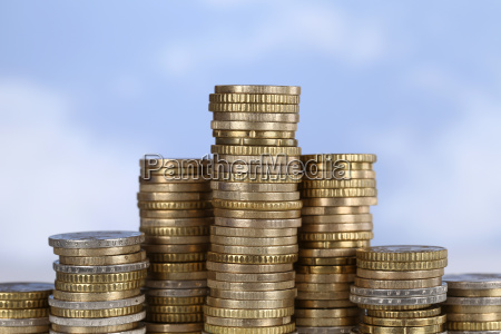 coins chart theme success win and