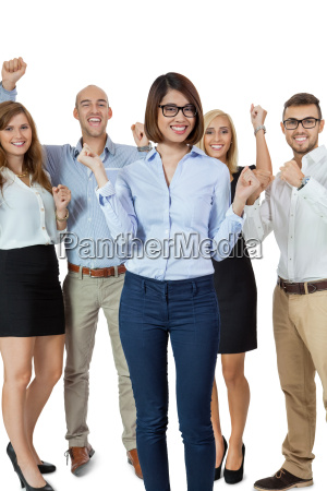 odnoszacy sukcesy zespol mlodych profesjonalistow